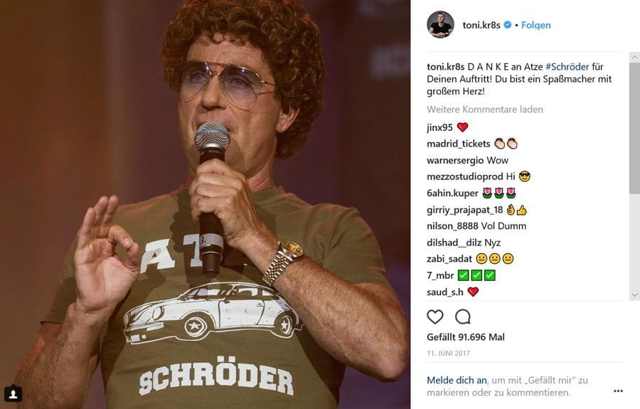 Atze Schröder und Rolex