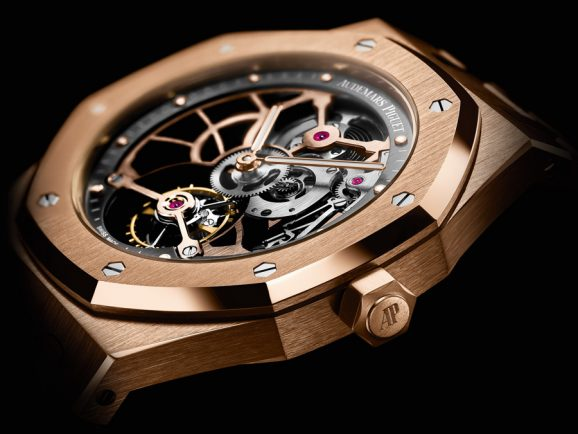 Audemars Piguet Royal Oak Tourbillon Extraflach Squelette