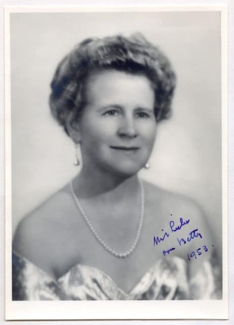 Betty Wilsdorf-Mettler