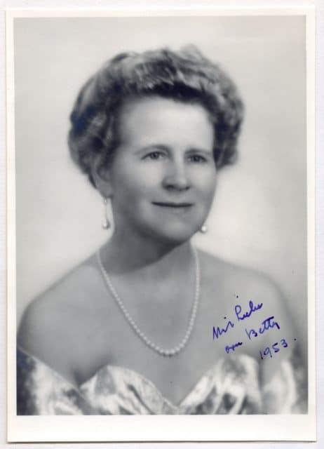 Betty Wilsdorf-Mettler