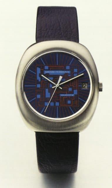 Begründete den Industriestandard für Quarz: Girard-Perregaux: Quarz-Kaliber GP 350 von 1971