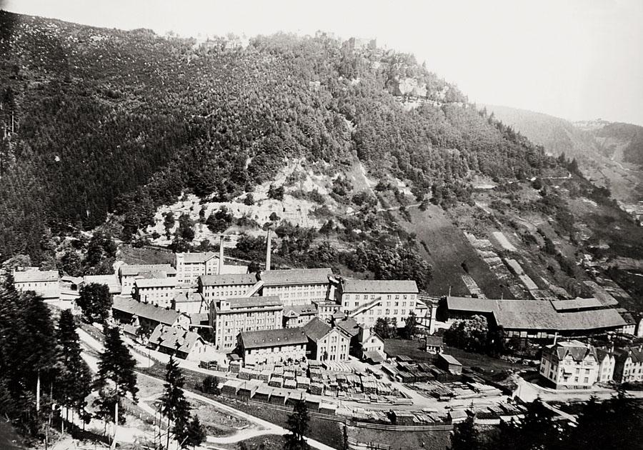 Das Junghans-Firmengelände 1903