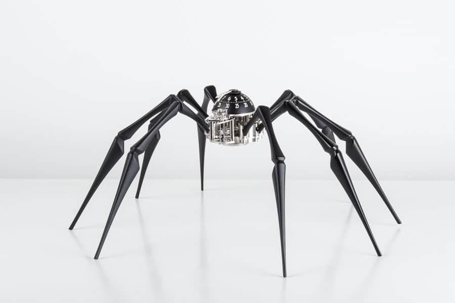 MB&F: Spinnenuhr Arachnophobia