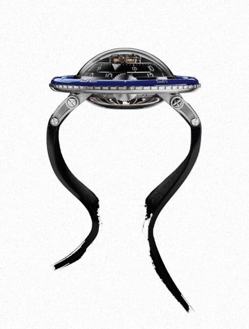 Leuchtet im Dunkeln wie eine Qualle und hat auch deren Form: die HM7 Aquapod von MB&F