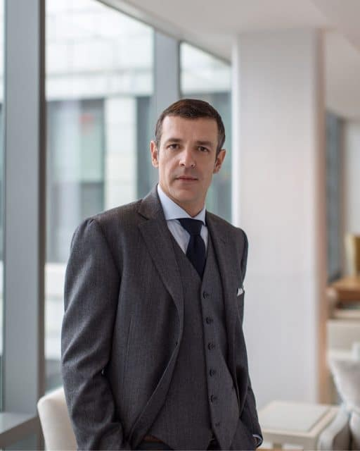 Nicola Andreatta: Vice President, General Manager, Tiffany & Co. Swiss Watches Sagl Foto: Martin Crook