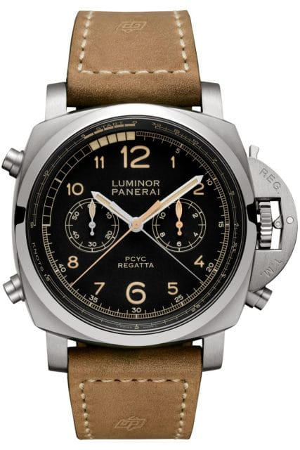 Panerai: Luminor 1950 PCYC Regatta 3 Days Chrono Flyback Automatic Titanio, 16.700 Euro