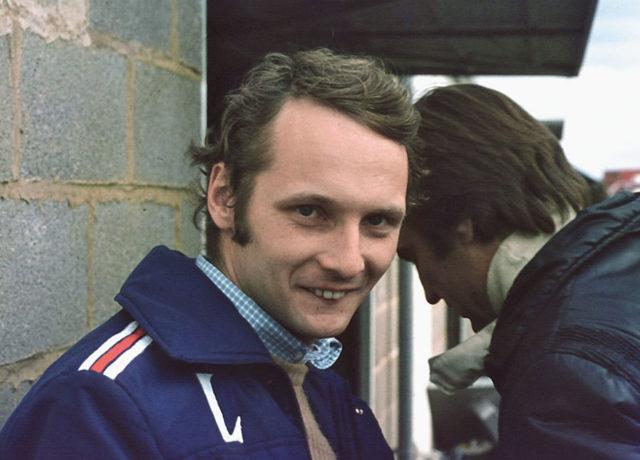 Niki Lauda: Der österreichische Rennfahrer sicherte sich 1975 die Weltmeisterschaft.