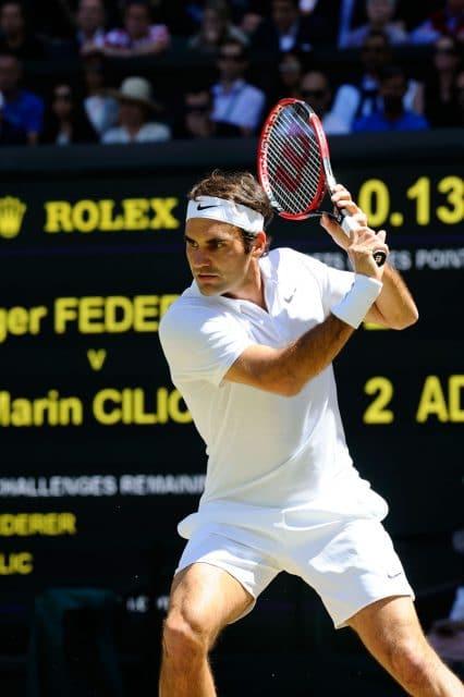 Rolex ist seit 1978 offizieller Zeitgeber in Wimbledon und sponsert seit Jahren Tennislegende Roger Federer