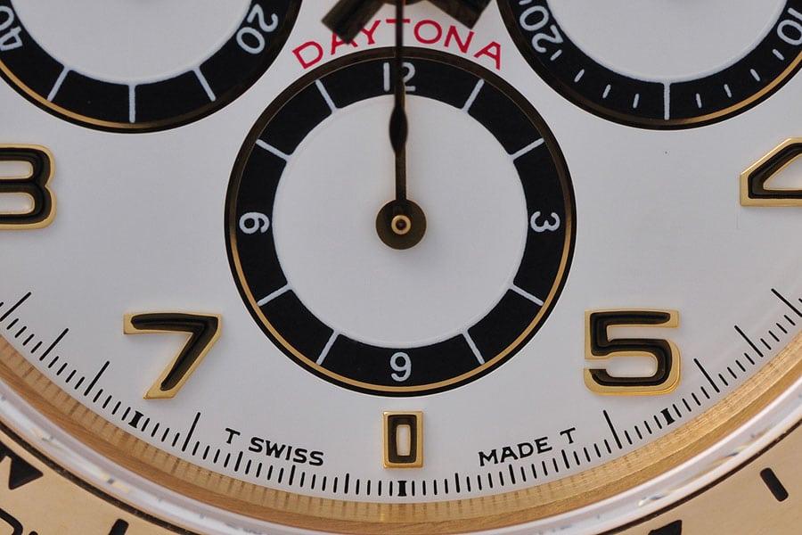 """Das Zifferblatt der Rolex Daytona zeigt, was """"Inverted Six"""" unter Rolex-Fans bedeutet"""