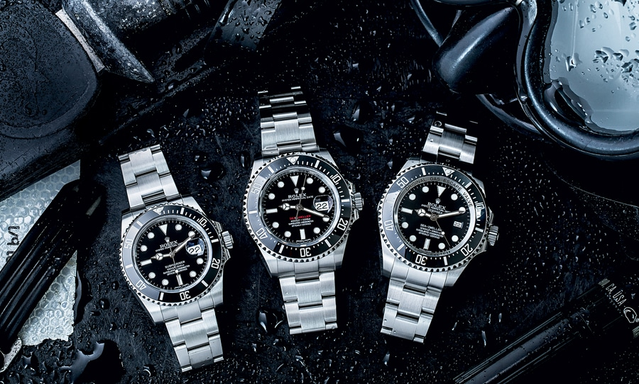 Die sportlichen Stahl-Modelle von Rolex sind sehr beliebt und entsprechend preisstabil