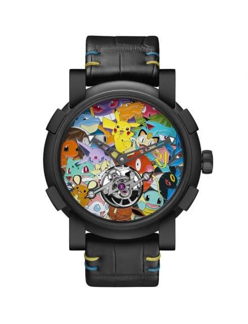 Romain Jerome: RJ X Pokémon Tourbillon