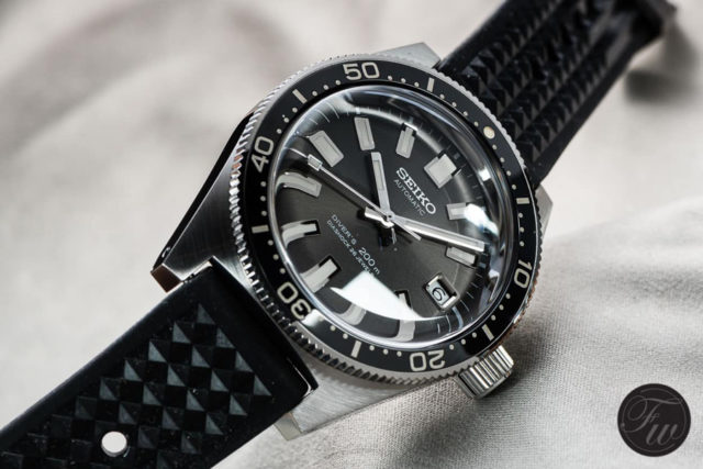 Bei der Neuauflage SLA017 hat sich Seiko stark an der Taucheruhr von 1965 orientiert
