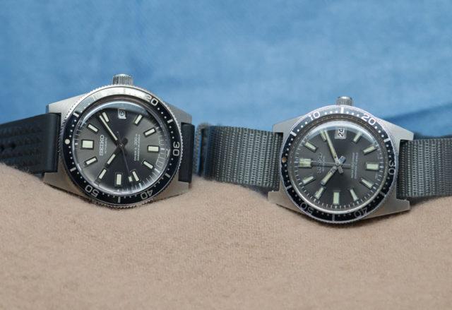 Vergleich: die Neuauflage Prospex SLA017 und das Original aus dem Jahr 1965, die 62MAS