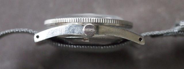 Krone und Bandanstöße der Seiko 62MAS