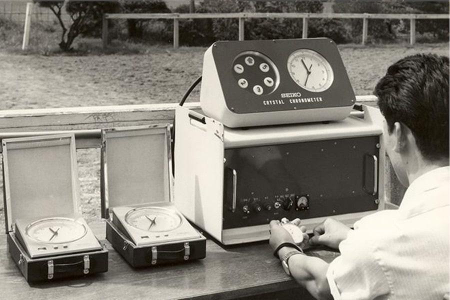 Seiko entwickelte die erste transportable Quarzuhr für die Olympiade 1964 in Tokyo