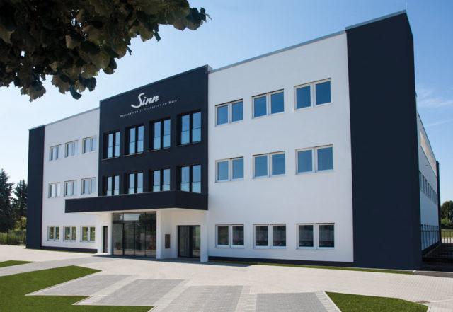 Der Neubau in Sossenheim