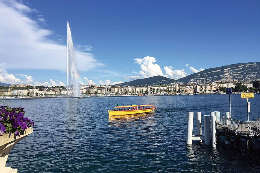 Uhrenmetropole Genf