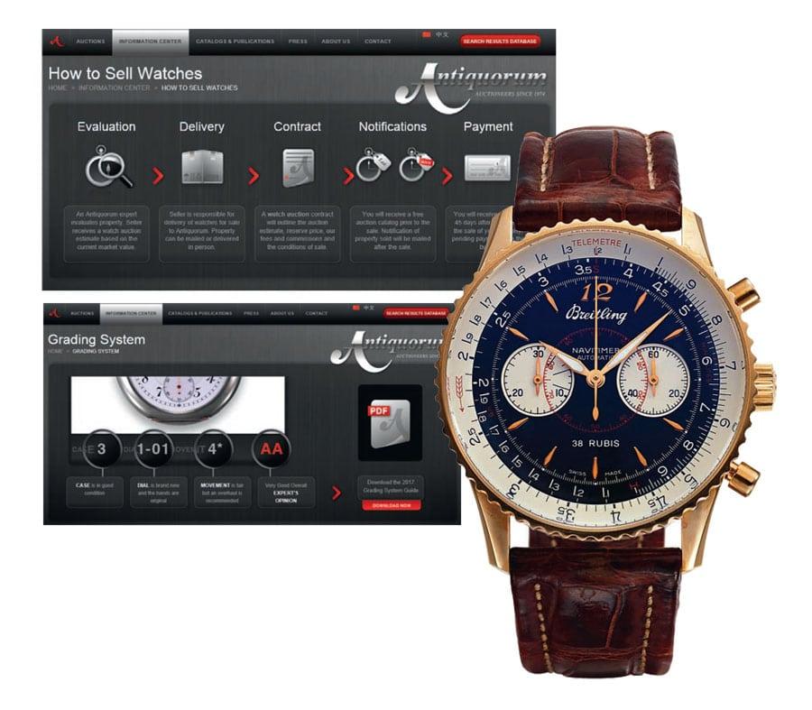 Antiquorum: Das Auktionshaus versteigert vor allem hochpreisige Uhren.