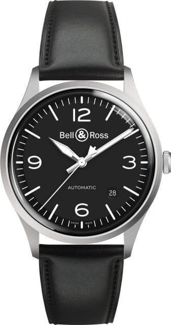 Bell & Ross: BRV1-92 Black Steel