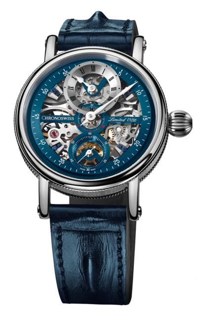 Chronoswiss: Sirius Flying Grand Regulator Skeleton