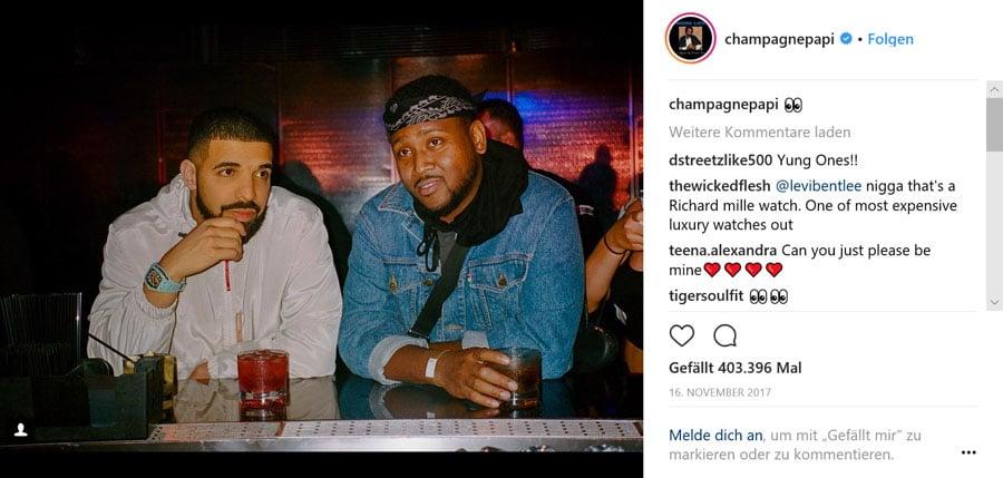 Drake und Richard Mille