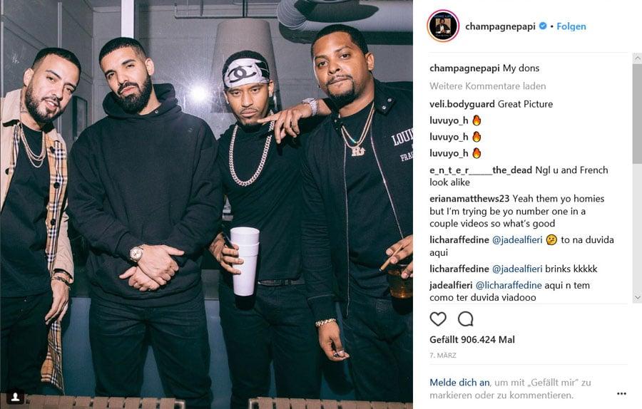 Drake und Rolex