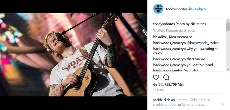 Ed Sheeran und Richard Mille