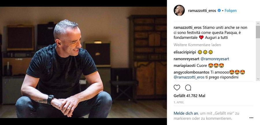 Eros Ramazzotti und Audemars Piguet