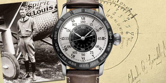 Heute wie damals faszinierend: Longines Lindbergh Stundenwinkeluhr