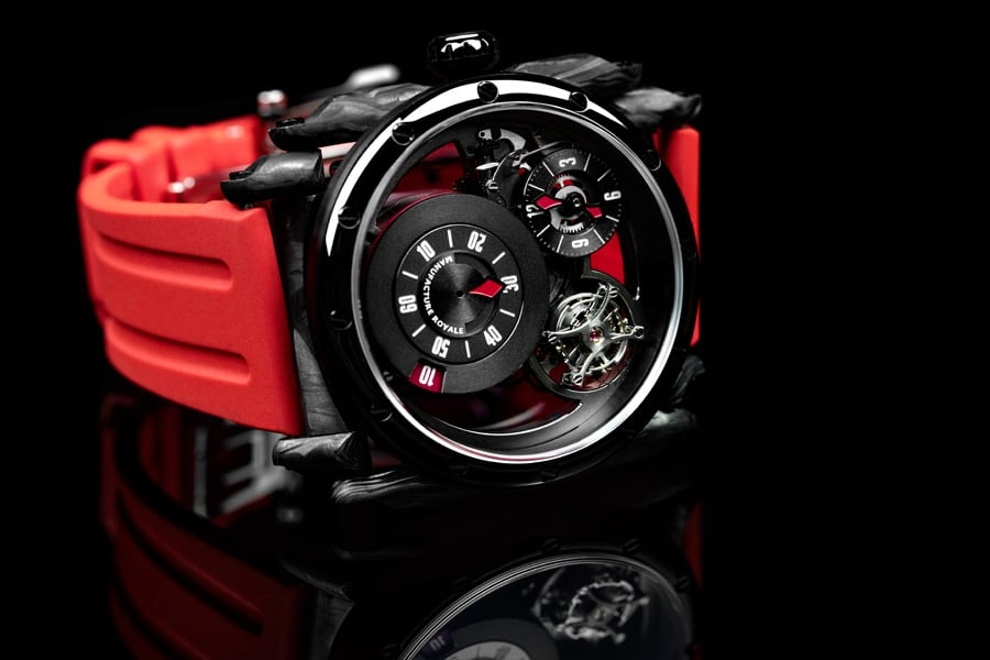 Manufacture Royale: ADN in Schwarz-Rot