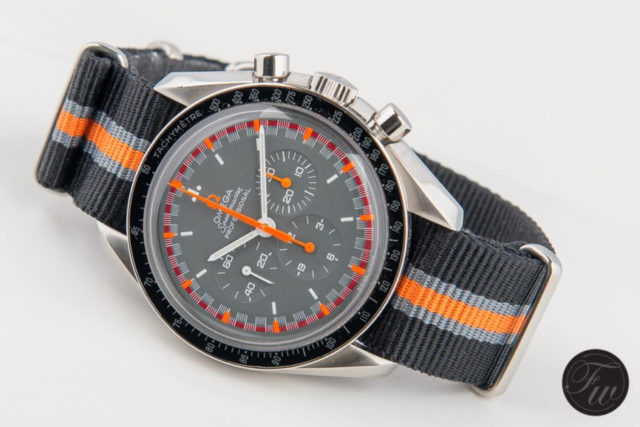 Omega: Speedmaster Professional 'Racing' am Nylon-Nato-Band