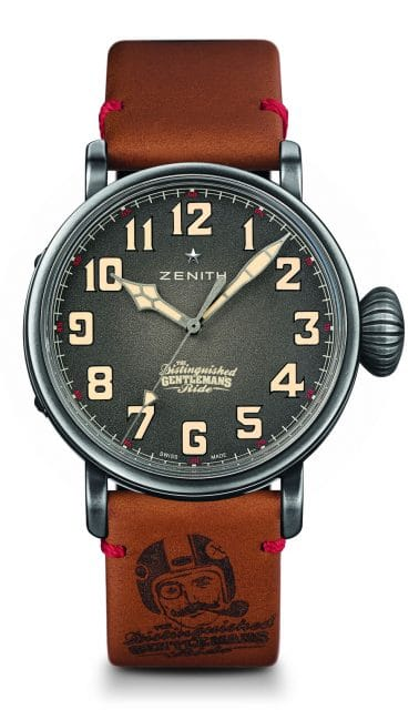 Zenith: Pilot Ton-Up Distinguished Gentleman's Ride Special Edition