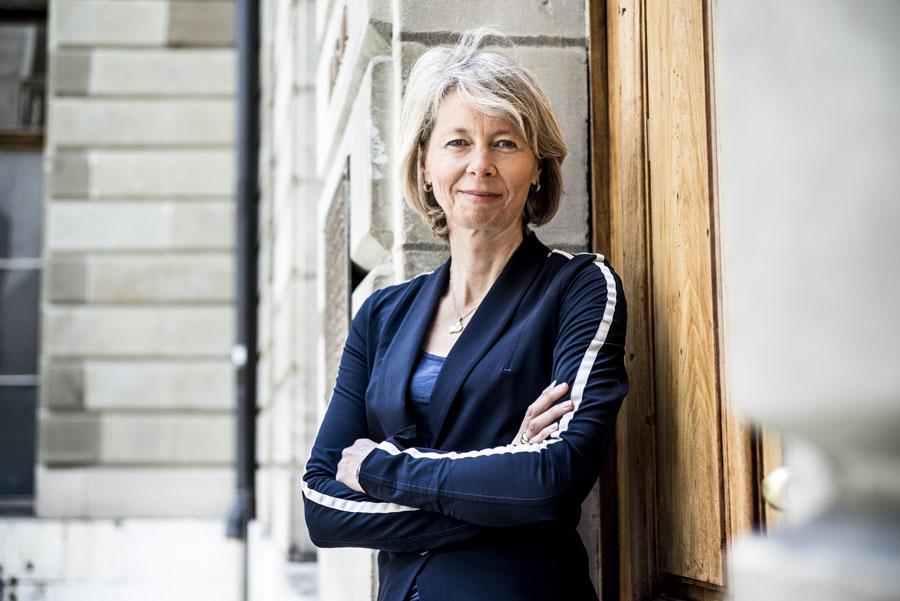 Aletta Stas, Gründerin von Frédérique Constant und Designerin der Uhren