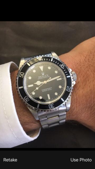 Basler Uhrenversicherung – Schritt 2