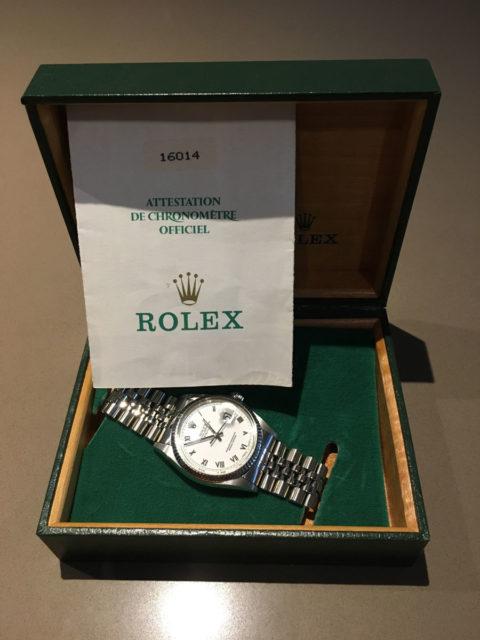 Catawiki: Rolex Datejust 1985