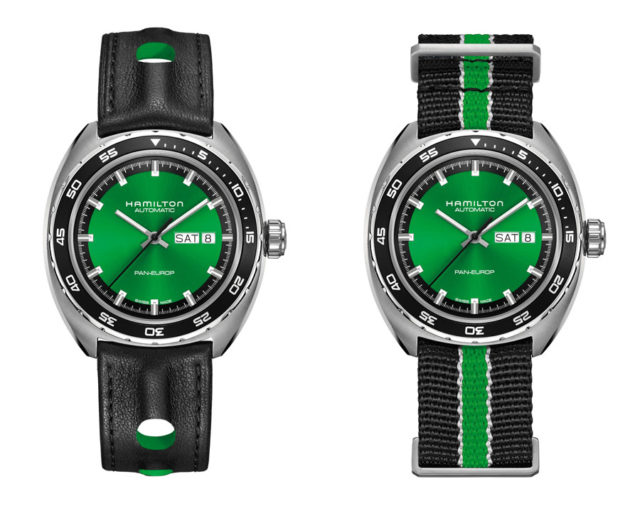 Hamilton Pan Europ Green Edition