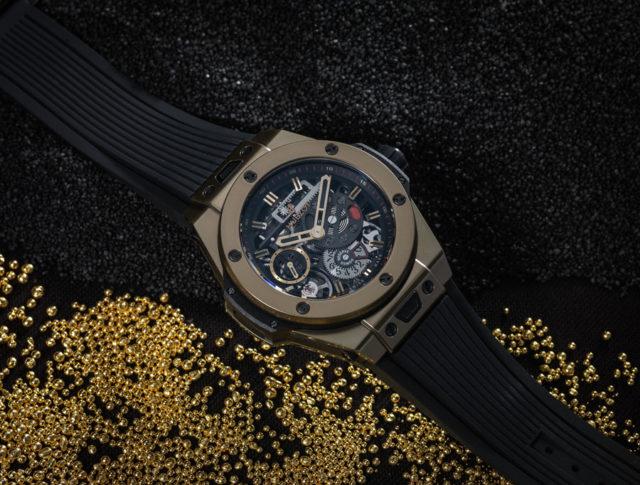 Hublot: Big Bang Meca-10 Magic Gold