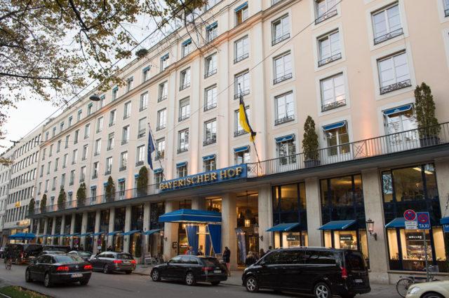 Die MunichTime findet im Hotel Bayerischer Hof statt.