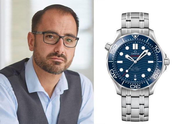 Chronos-Redakteur Alex Krupp wählt die Omega Seamaster Diver 300m (4.500 Euro)