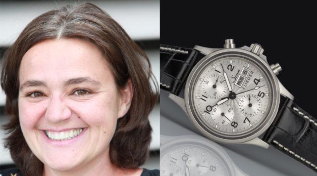 Sabine Zwettler, freie Autorin, wählt die Sinn Spezialuhren 356 Sa Flieger III (2.250 Euro).