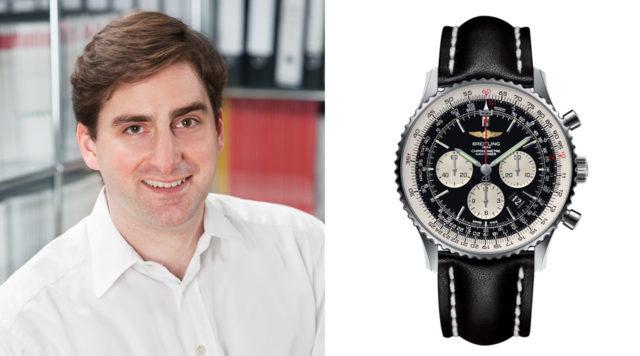 Für Thomas Gronenthal, freier Autor, ist der Breitling Navitimer 01 (7.150 Euro) die erste Wahl.