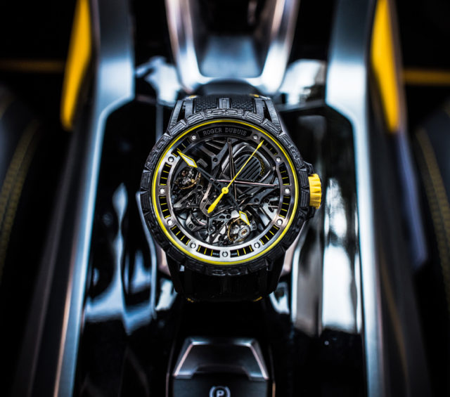 Roger Dubuis: Excalibur Aventador S