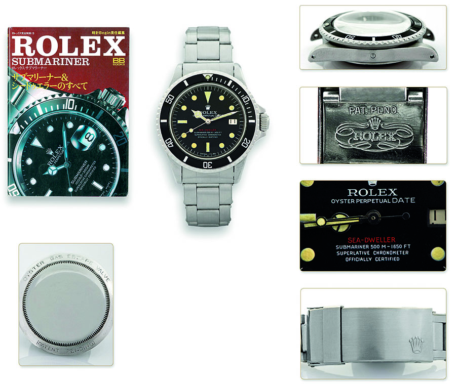 Rolex: Sea-Dweller Submariner 500 M