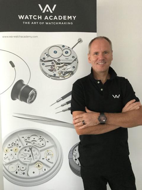 Boris Kuijper, der Gründer der Watch Academy