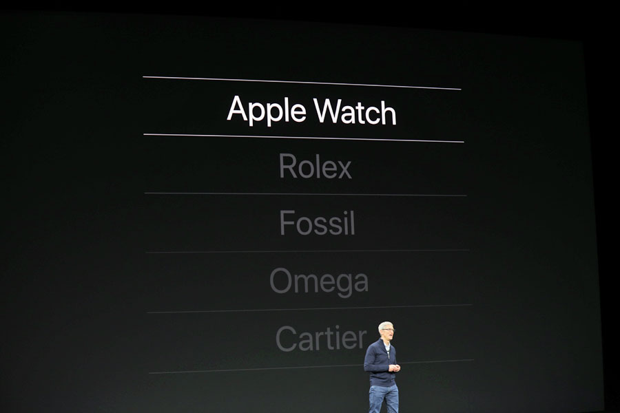 2016 stand Rolex noch über der Apple Watch, jetzt hat sich das Blatt gewendet