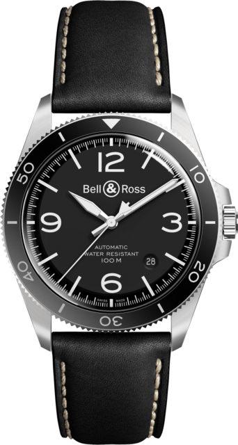 Bell & Ross: BR V2-92 Black Steel