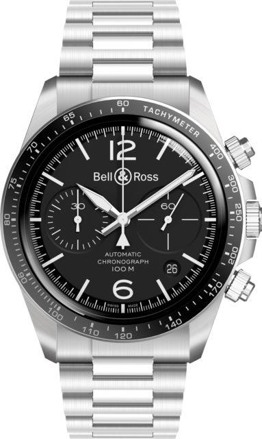 Bell & Ross: BR V2-94 Black Steel