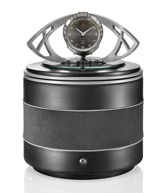 Buben & Zörweg: Der Uhrenbeweger-Safe Illusion Deluxe mit eigener Uhr