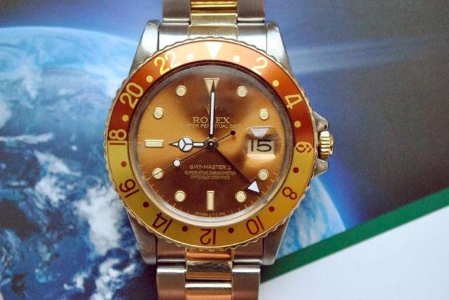 Rolex: GMT Master II, Tiger Eye - Tigerauge