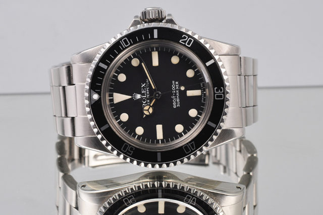Rolex: Submariner mit Maxi Dial
